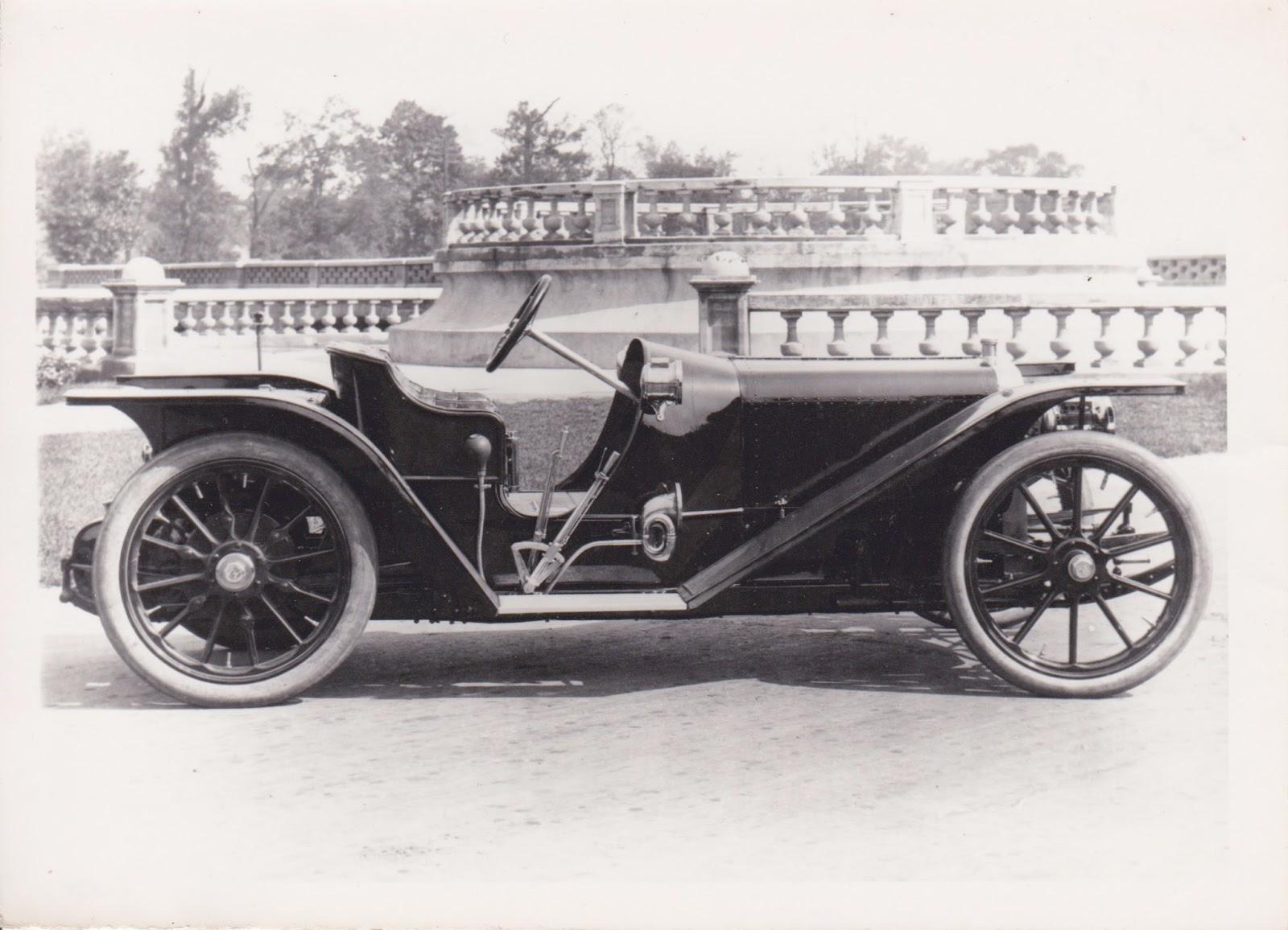 Vintage Motoring Blog: 1908 American Underslung Roadsters