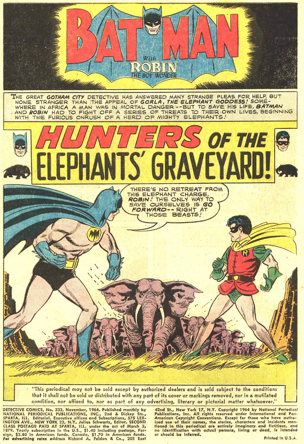 Detective Comics (1937) 333 Page 3