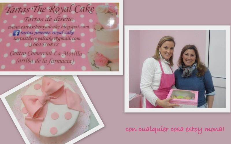 Con Cualquier Cosa Estoy Mona Hoy Galletas Con Tartas The Royal Cake