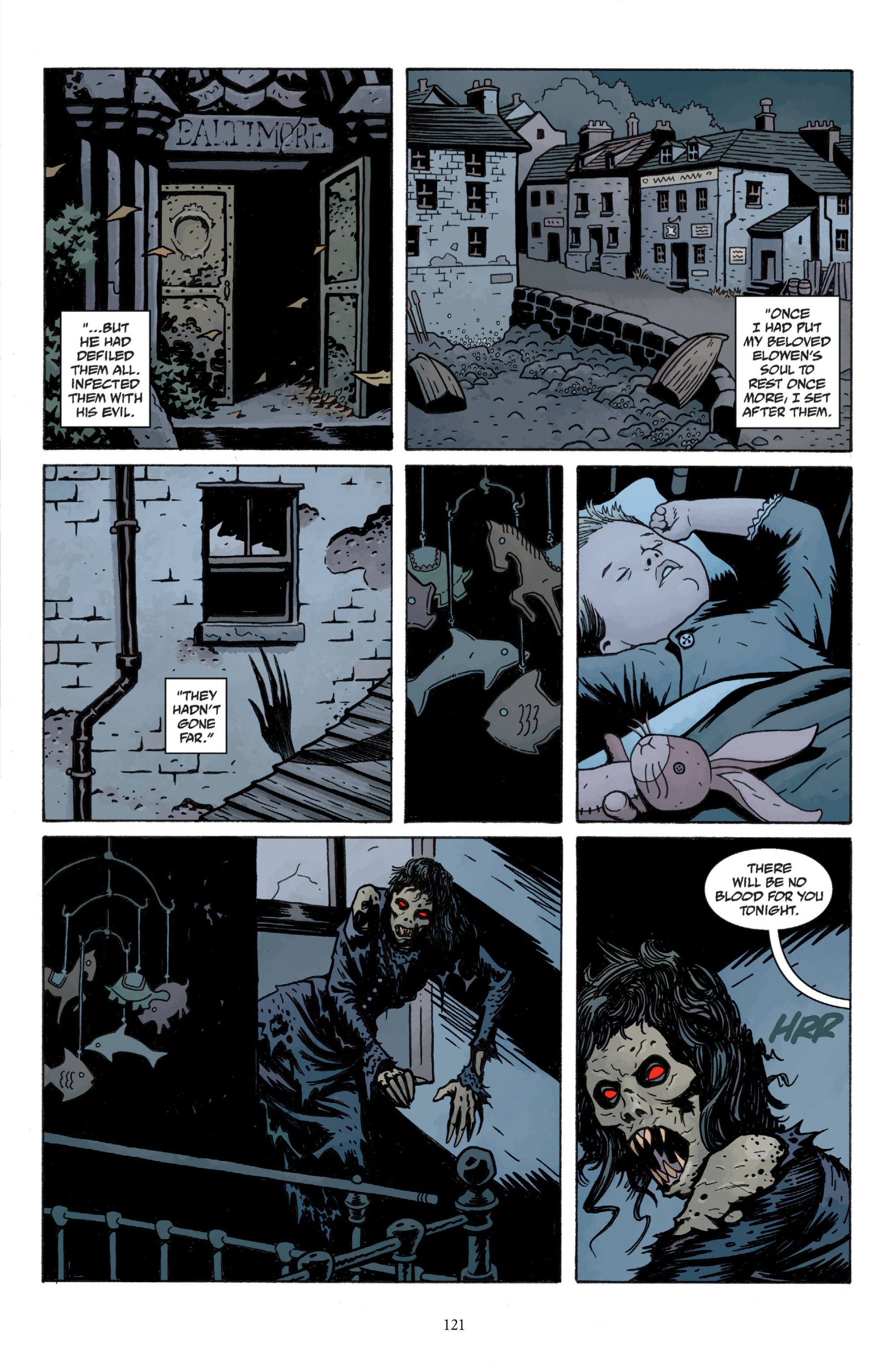Read online Baltimore: The Plague Ships comic -  Issue # TPB - 120