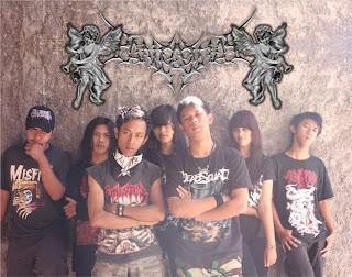 Pancasona Band Ethnic Trash Gothic Temanggung Jawa Tengah Indonesia Foto Personil Logo Artwork Cover Wallpaper