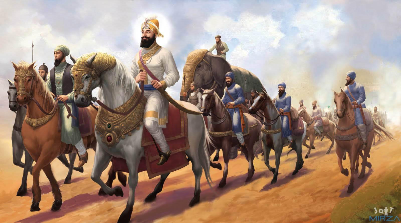 Wallpaper Guru Gobind Singh Ji 3d Sardari