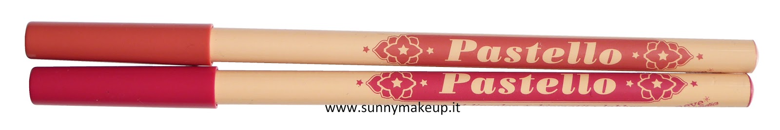 Neve Cosmetics - Matite Labbra Pastello: Swatches e review di Magnolia e Orchidea