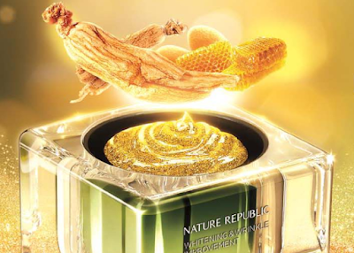 Nature Republic Whitening & Wrinkle Improvement Ginseng Royal Silk Watery Cream Review | Healthbiztips