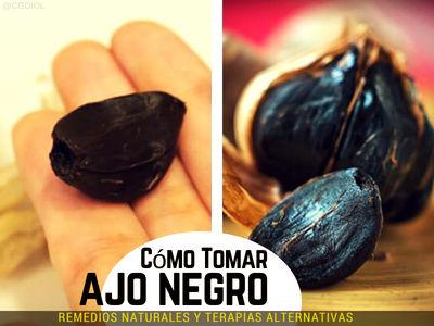 Como Tomar Ajo Negro,antibiótico natural, mejorando dramáticamente la Salud