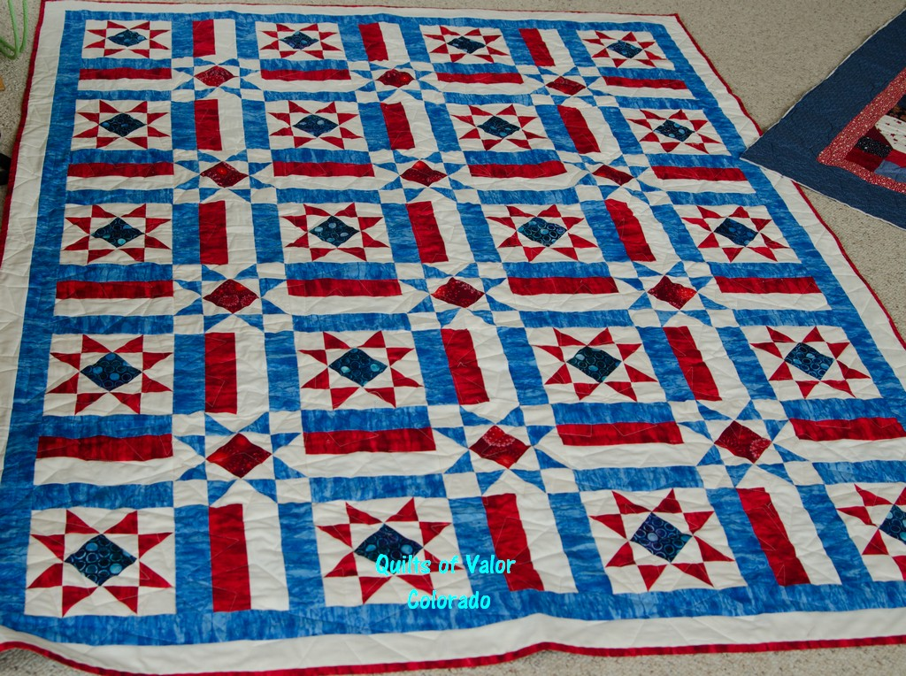 Alycia Quilts: Quilts of Valor - Quilted
