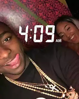 Davido Celebrates Valentine's Day With New Girlfriend (Photos)