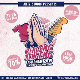 Rengeng-Rengeng Ramadhan 2019, Ini dia Line Up nya!