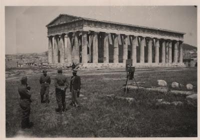 Έτσι έβλεπαν οι Γερμανοί κατακτητές την Αθήνα, την περίοδο της Κατοχής
