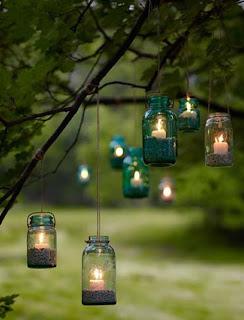 Reciclaje de botellas para hacer lampara