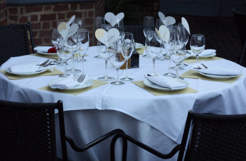 Read More About The Rehearsal Dinner Table Decor Along With The Place  Settings My Mother Made For My Bridal Luncheon In This Post.