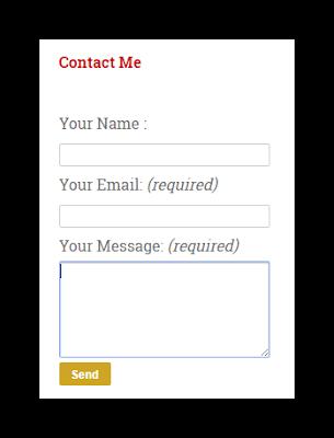 Cara Mudah Membuat Contact Form Pada Halaman Blogger