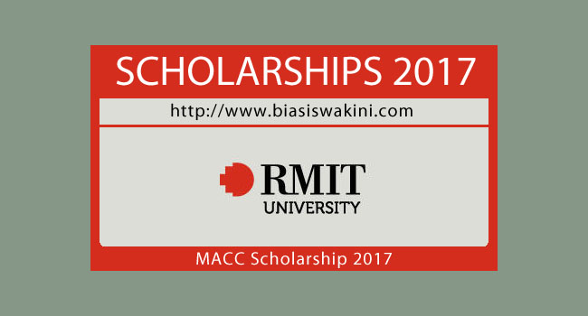 Biasiswa RMIT University-Malaysia Australia Colombo Plan Commemoration Scholarship 2017