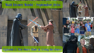 Episode 3: A Ride on Toy Story & Using the Force in Jedi Training Academy – Walt Disney World – September 2016