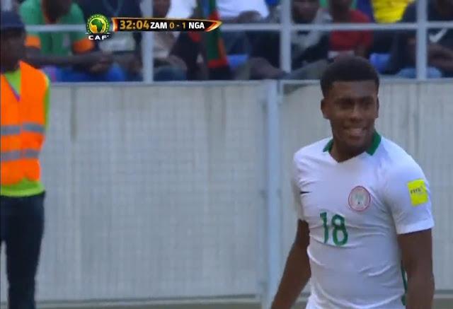 اهداف نيجيريا وزامبيا