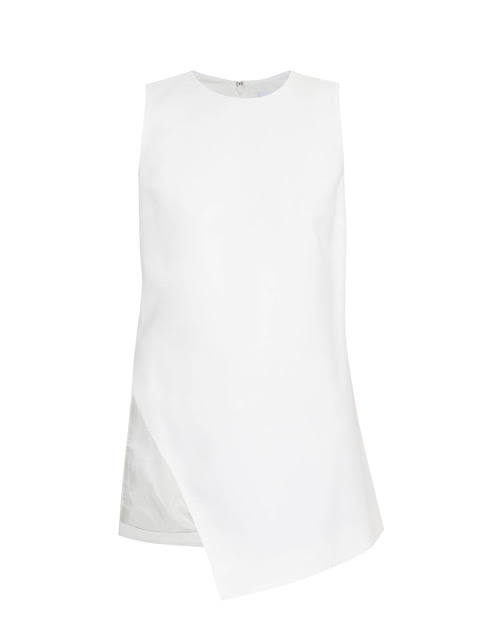 Hiphunters raey white top stylish fashion