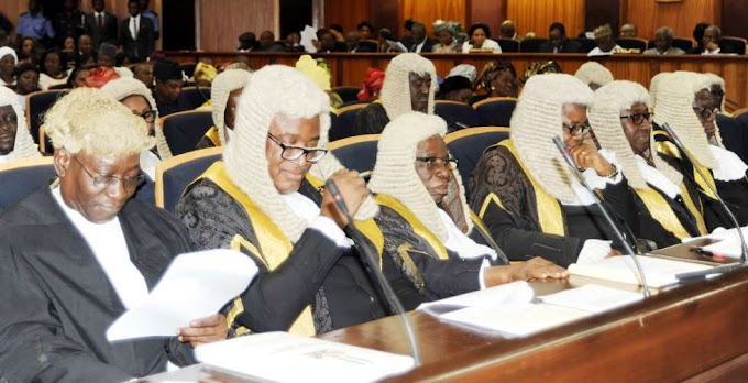 It is official: Nigeria Supreme Court judges accused of corruption step down