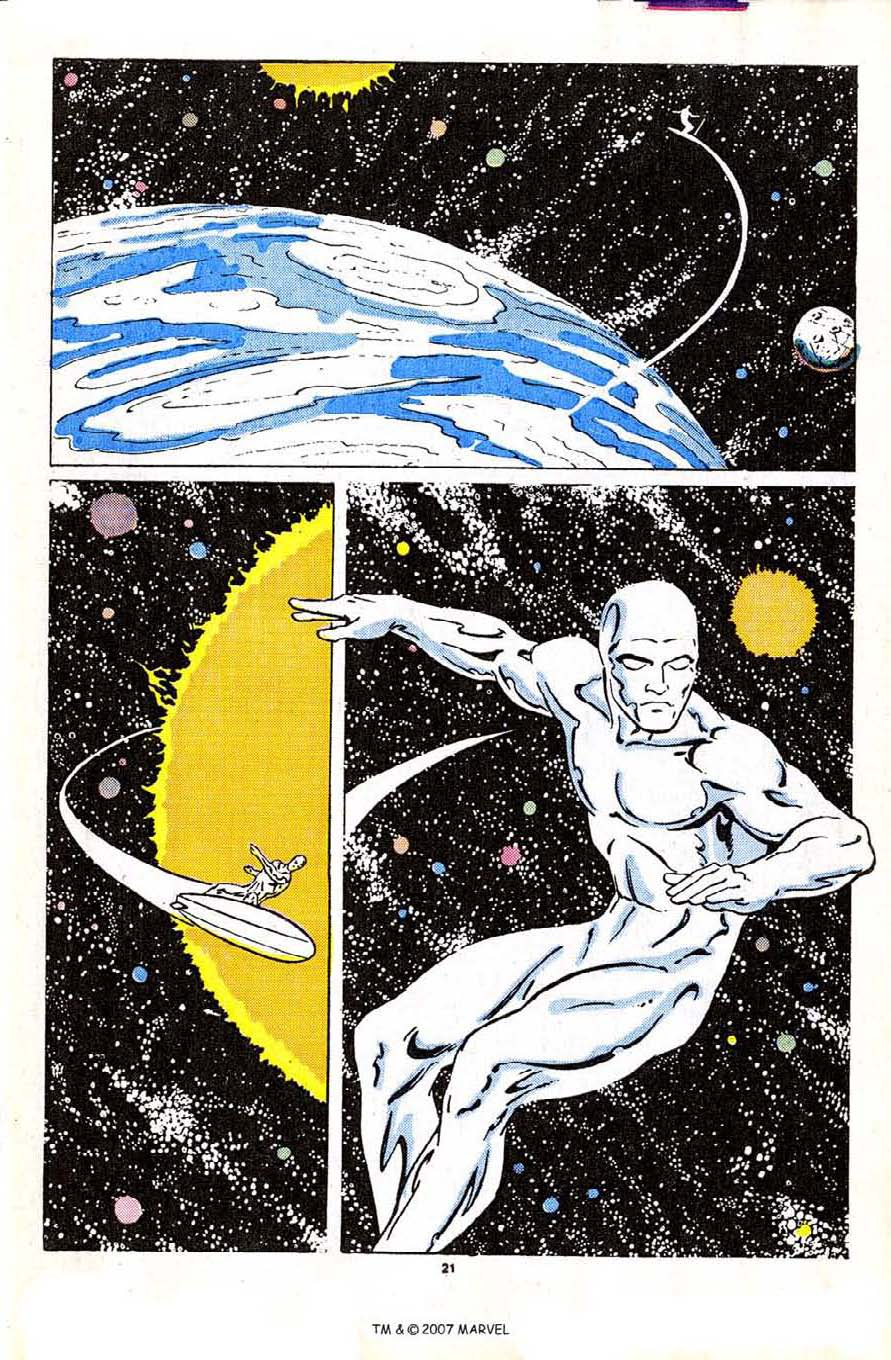 Read online Silver Surfer (1987) comic -  Issue #2 - 31