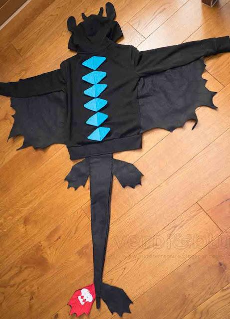 come realizzare costume Sdentato - Dragon Trainer
