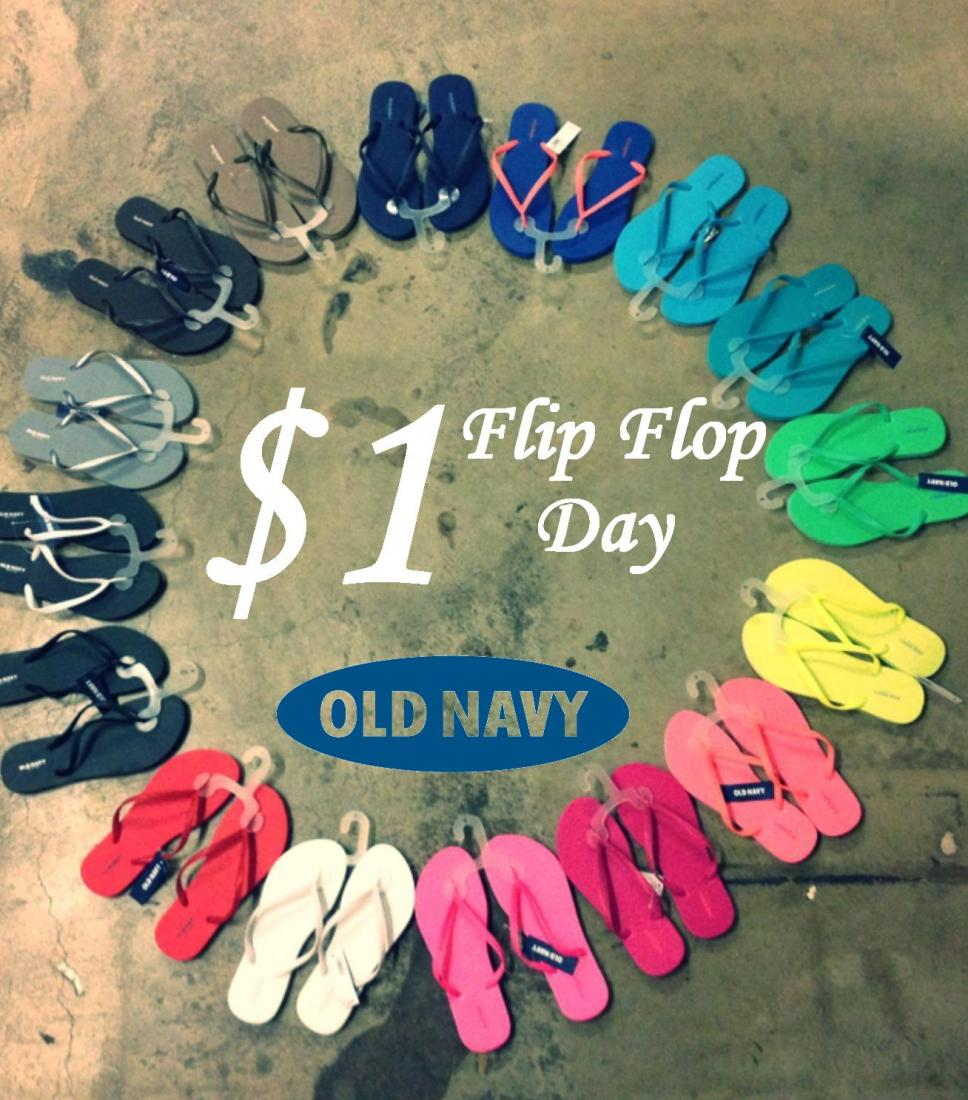eb407649d 7 Survival Tips For The Old Navy  1 Flip Flop Event