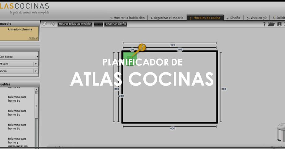 Planificador cocinas con estilo for Planificador cocinas online