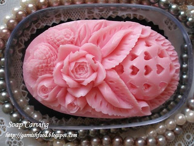 soap carving art