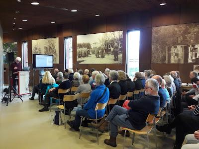 Mijn lezing in Kamp Amersfoort tijdens Holocaust Memorial Day