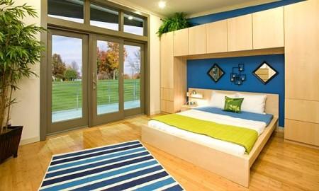 Prebuilt green modular home