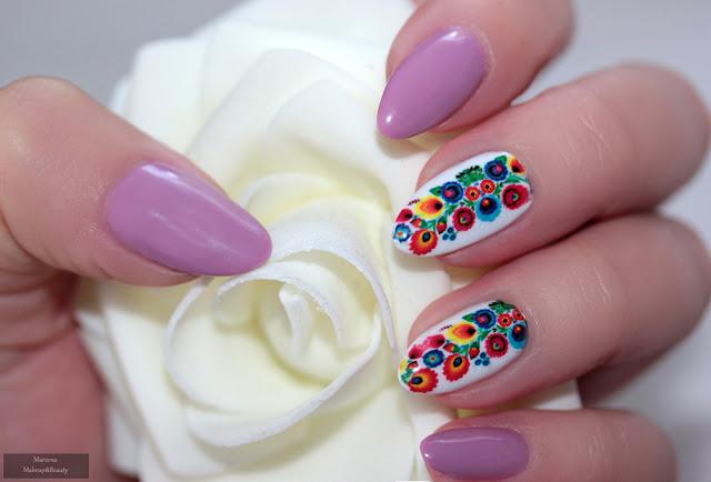 Claresa nr 505 manicure hybrydowy