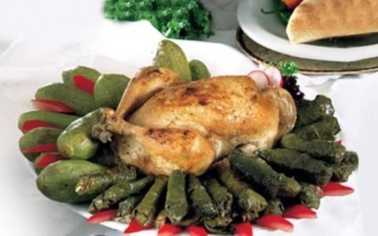 طريقة تحضير دجاج محشو ورق عنب