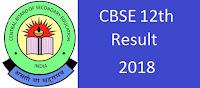 CBSE Delhi 12th Class Exam Result 2018, Delhi 12th Exam Results 2018