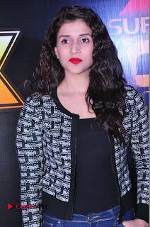 Actress Mannara Chopra Stills in Jeans at Sparx 2017 Curtain Raiser Event  0061.JPG