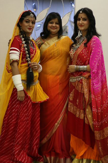 Jaipur recently witnessed how one can do wonders with the acumen of maquillage and brush Poornima Goyal, makeover & beauty expert with team Silverine and Shishir Goyal