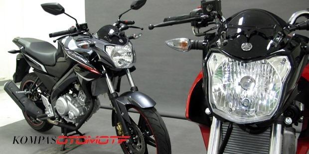 Seri lengkap Yamaha Vixion dari tahun ke tahun