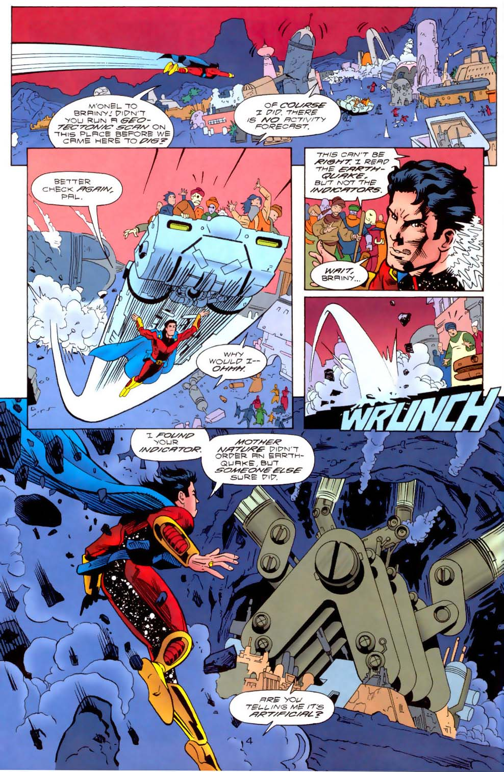 Legion of Super-Heroes (1989) 111 Page 4