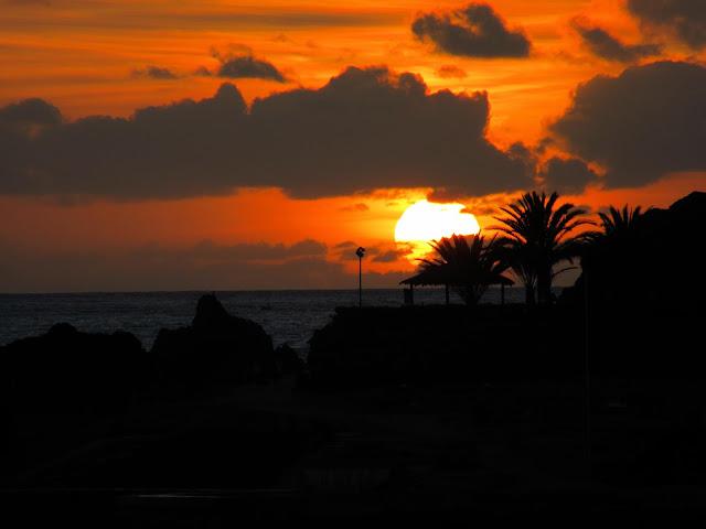 a magnificent sunset