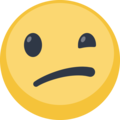 Unsure emoticon