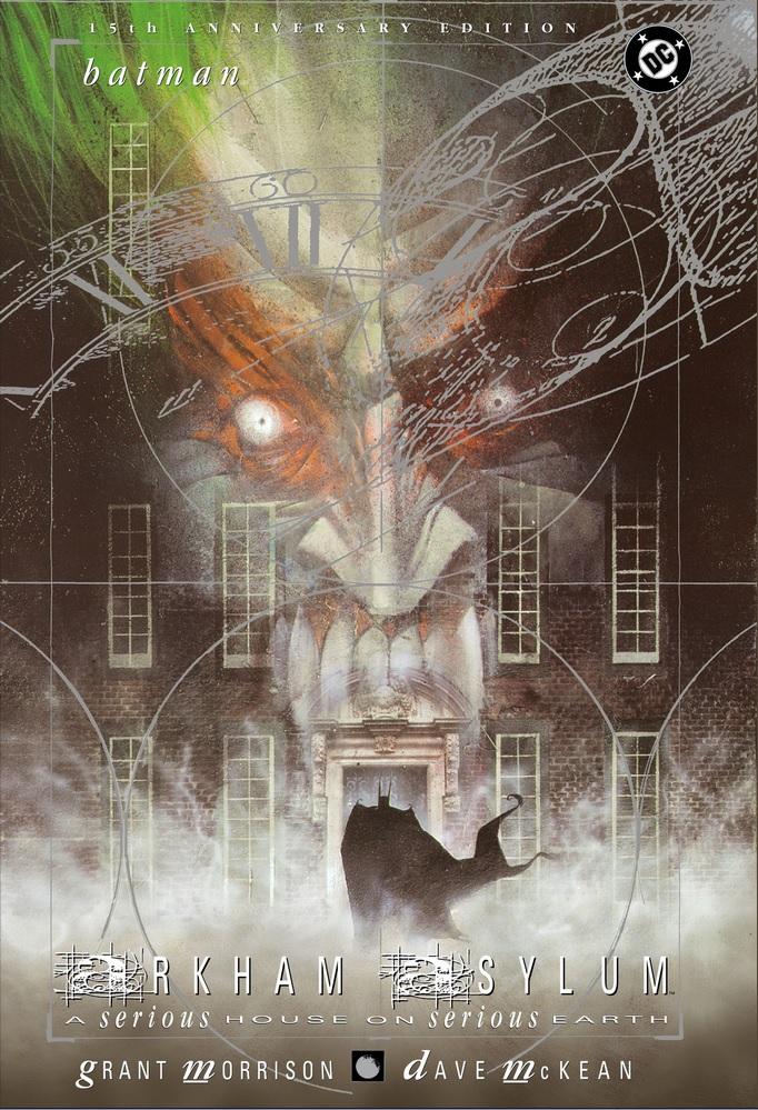 Review Batman Arkham Asylum 15th Anniversary Edition Grant Morrison Dave McKean DC Comics cover trade paperback tpb comic book
