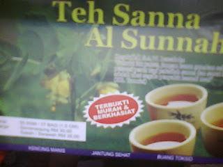 diet alami dengan teh sanna