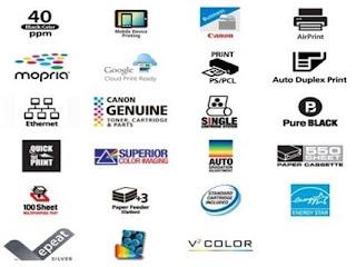 Canon imageCLASS LBP712Cx Features