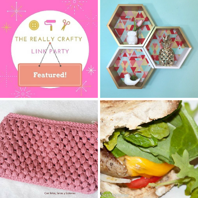 The Really Crafty Link Party #66 featured posts!