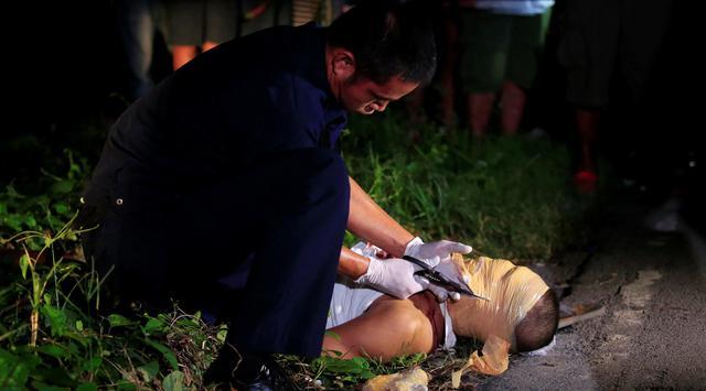 aksi tembak di tempat bagi pengedar narkoba di filipina