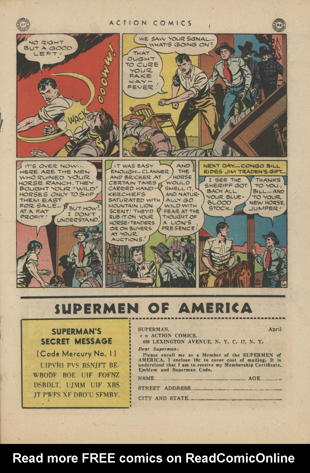 Read online Action Comics (1938) comic -  Issue #83 - 27