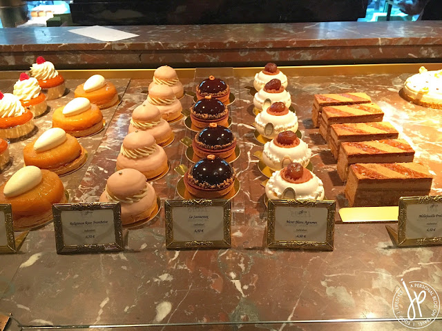 rows of pastries
