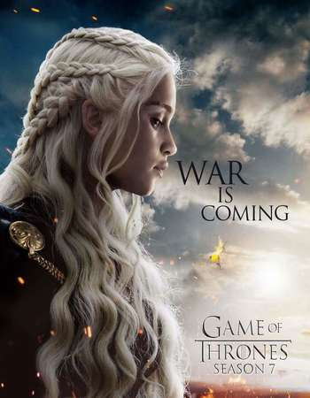 Poster Of Game of Thrones 2017 Watch Online Free Download