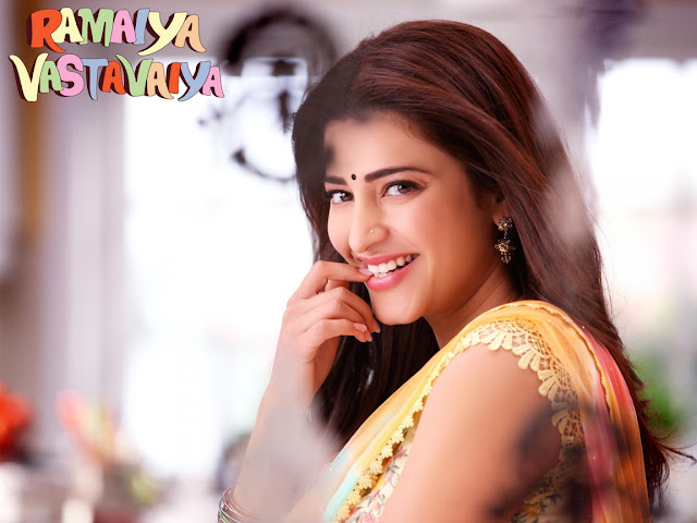 Shruti Hassan Smiling Pic
