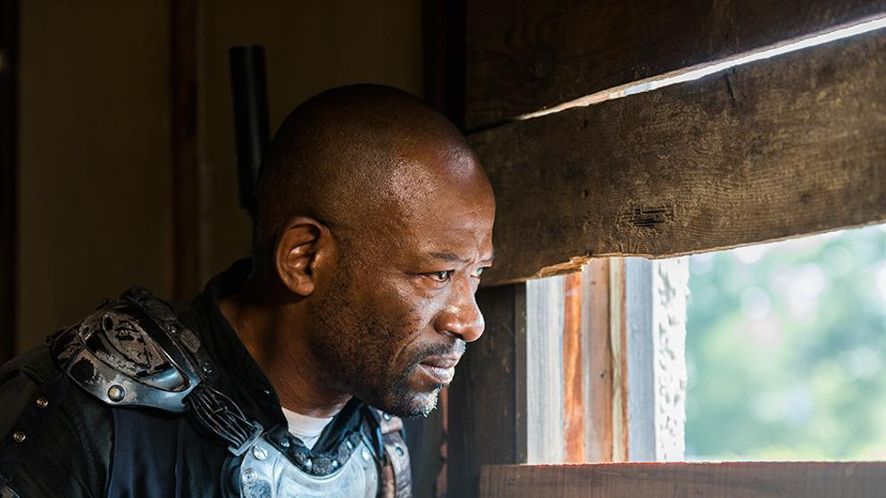 Morgan, en el episodio 8x07 Time for After de The Walking Dead