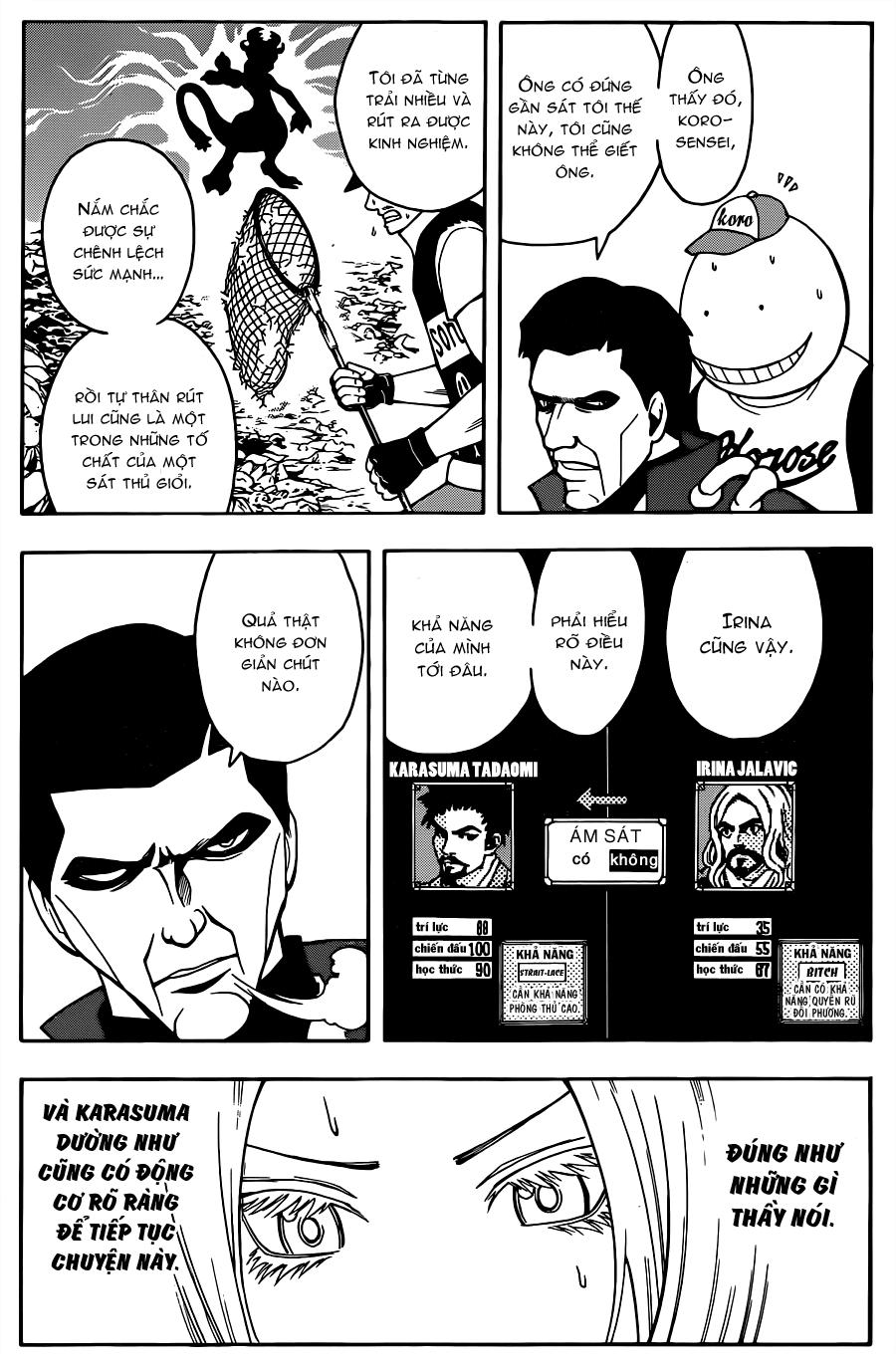 Ansatsu Kyoushitsu chap 27 trang 4