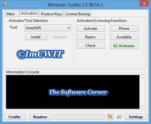 windows 8.1 microsoft toolkit 2.5.3