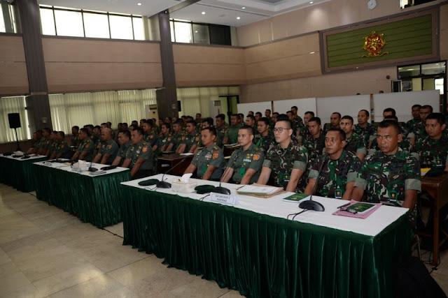 Kostrad Gelar Rakornis Intelijen, Ini Pesan Mayjen TNI M.Bambang Taufik